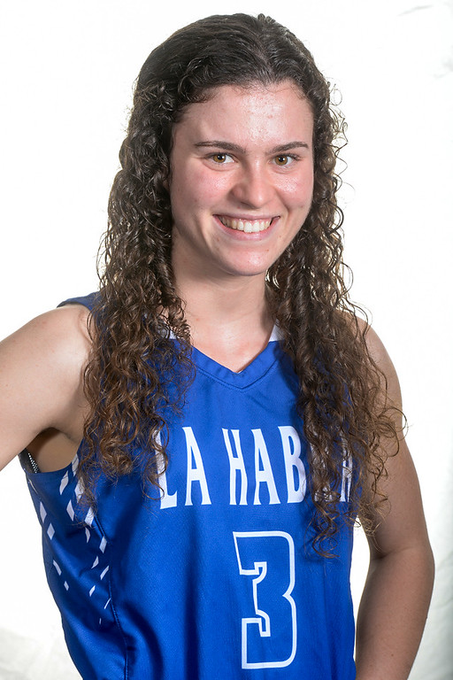 . Emma Zener from La Habra High School was selected to the Whittier Daily News All Area Girls Basketball Team on Thursday April 6, 2017. (Photo by Keith Durflinger/Whittier Daily News/SCNG)