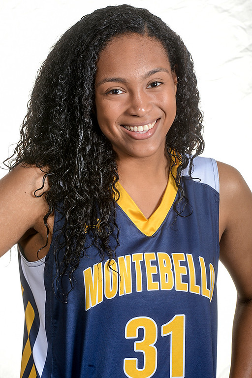 . Kyannie Brown from Montebello High School was selected to the Whittier Daily News All Area Girls Basketball Team on Thursday April 6, 2017. (Photo by Keith Durflinger/Whittier Daily News/SCNG)