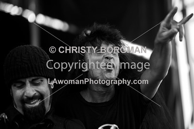 Joey Belladonna and Rob Caggiano