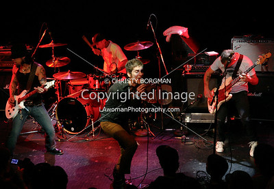 Dave Navarro, Perry Farrell, Travis Barker and Flea