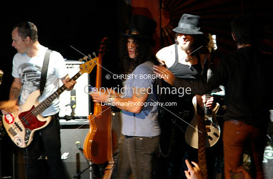 Flea, Slash, Dave Navarro and Perry Farrell