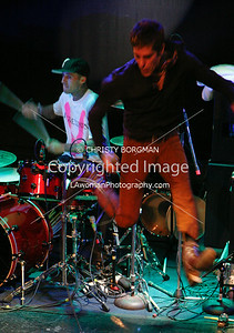 Travis Barker and Perry Farrell