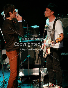 Perry Farrell and Flea