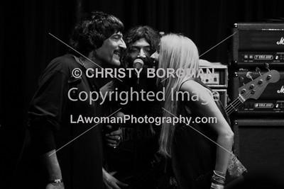 Carmine Appice, Michael Devin and Sass Jordan