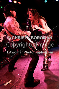 Dave Navarro and Juliette Lewis