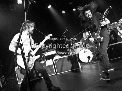 Dave Grohl and Chris Shiflett
