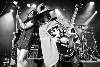Eric Dover and Gilby Clarke