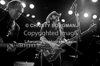 Danny B Harvey and Lemmy Kilmister