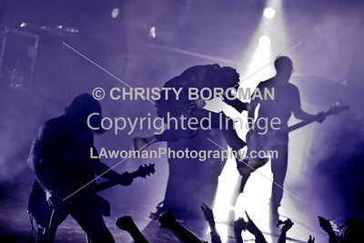 Perry Farrell, Dave Navarro and Chris Chaney