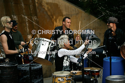 Stephen Perkins and the Street Drum Corps