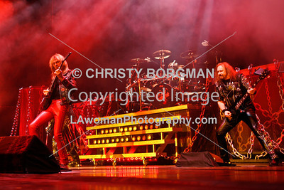 Glenn Tipton, Scott Travis and Ian Hill