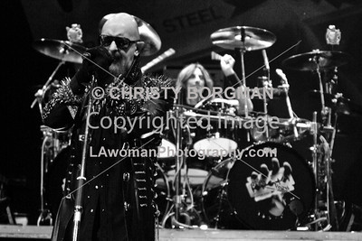 Rob Halford and Scott Travis
