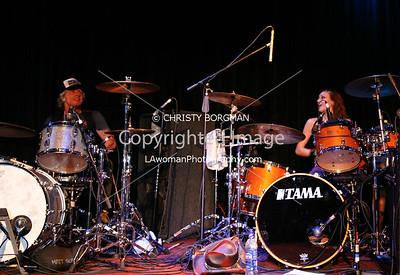 Hayley Cramer and Matt Sorum