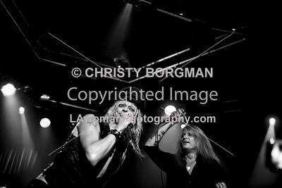 Michael Monroe and Sebastian Bach