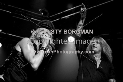 Michael Monroe and Sebastian Bach