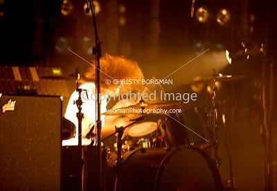 NIN Ilan Rubin  May 20, 2009 Verizon Wireless Amphitheater Irvine, CA.  NINJA tour