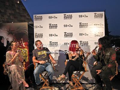 Kennedy, Darren, Kat Von D and Nikki Sixx