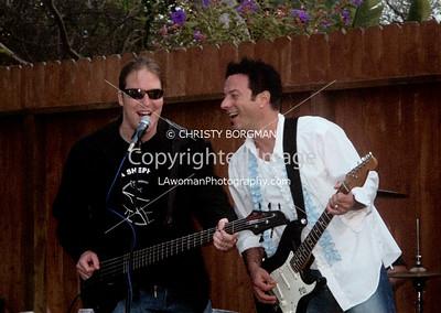 Erok and Pete @ BBQ jam