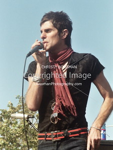 Perry Farrell. Satellite Party Flash Mob @ Epoxybox Gallery in Venice, CA 5-27-07