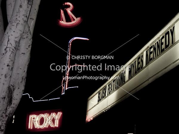Slash 4-10-10 The Roxy West Hollywood, CA
