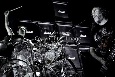 Tom Araya and Dave Lombardo