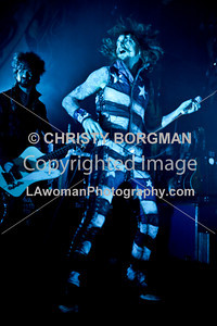 Justin Hawkins and Frankie Poullain