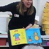 Kristi Garabrandt — The News-Herald <br> Jeannie Flemming, director of education for Willoughby Fine Arts leads a Readers Theaters session during Family Literacy Night at Longfellow Elementary School.