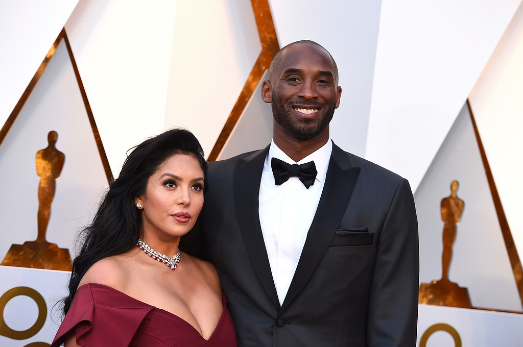 . Kobe Bryant, right, and Vanessa Laine Bryant arrives at the Oscars on Sunday, March 4, 2018, at the Dolby Theatre in Los Angeles. (Photo by Jordan Strauss/Invision/AP)