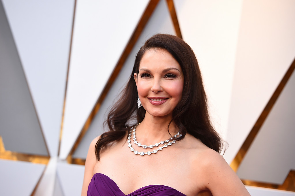 . Ashley Judd arrives at the Oscars on Sunday, March 4, 2018, at the Dolby Theatre in Los Angeles. (Photo by Jordan Strauss/Invision/AP)