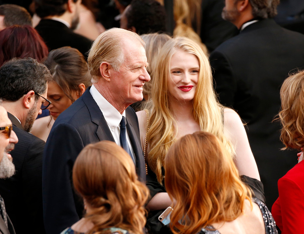 . Ed Begley Jr., left, and Amanda Begley arrive at the Oscars on Sunday, March 4, 2018, at the Dolby Theatre in Los Angeles. (Photo by Eric Jamison/Invision/AP)