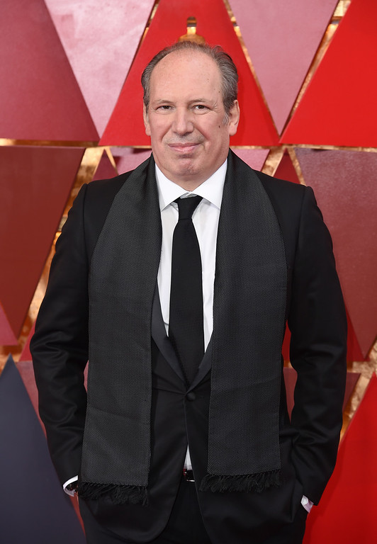 . Hans Zimmer arrives at the Oscars on Sunday, March 4, 2018, at the Dolby Theatre in Los Angeles. (Photo by Richard Shotwell/Invision/AP)
