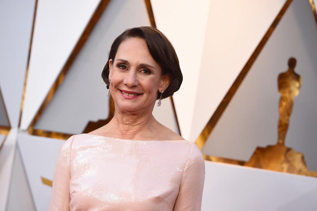 . Laurie Metcalf arrives at the Oscars on Sunday, March 4, 2018, at the Dolby Theatre in Los Angeles. (Photo by Jordan Strauss/Invision/AP)