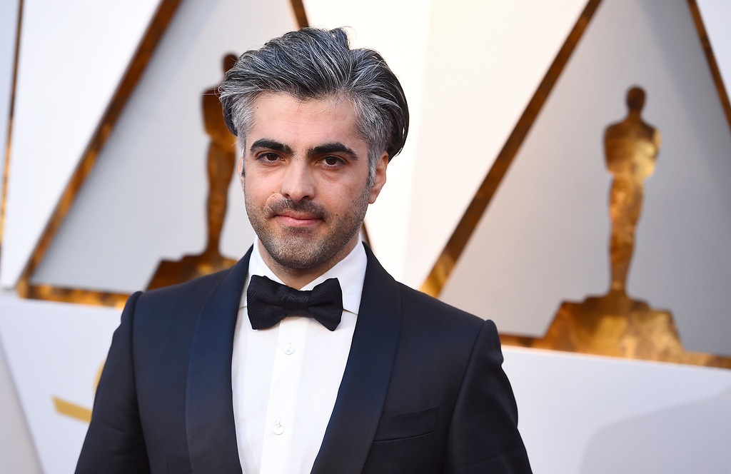 . Feras Fayyad arrives at the Oscars on Sunday, March 4, 2018, at the Dolby Theatre in Los Angeles. (Photo by Jordan Strauss/Invision/AP)