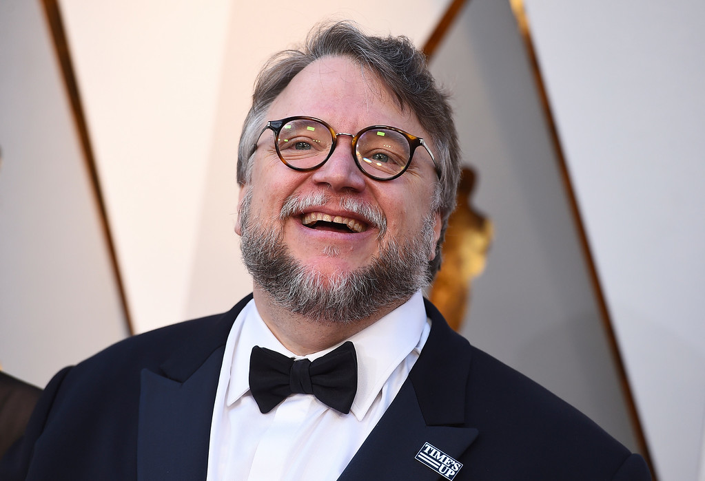 . Guillermo del Toro arrives at the Oscars on Sunday, March 4, 2018, at the Dolby Theatre in Los Angeles. (Photo by Jordan Strauss/Invision/AP)