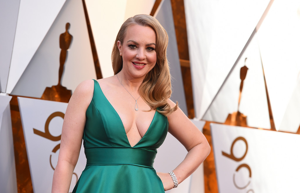 . Wendi McLendon-Covey arrives at the Oscars on Sunday, March 4, 2018, at the Dolby Theatre in Los Angeles. (Photo by Jordan Strauss/Invision/AP)