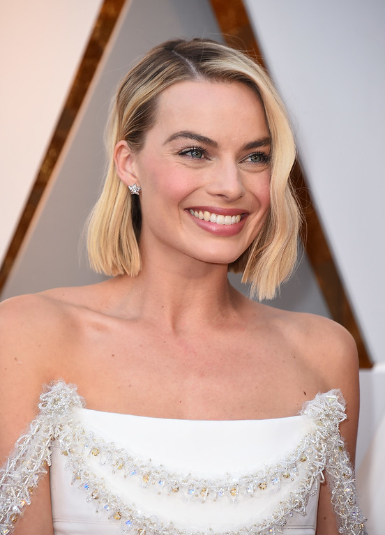 . Margot Robbie arrives at the Oscars on Sunday, March 4, 2018, at the Dolby Theatre in Los Angeles. (Photo by Jordan Strauss/Invision/AP)