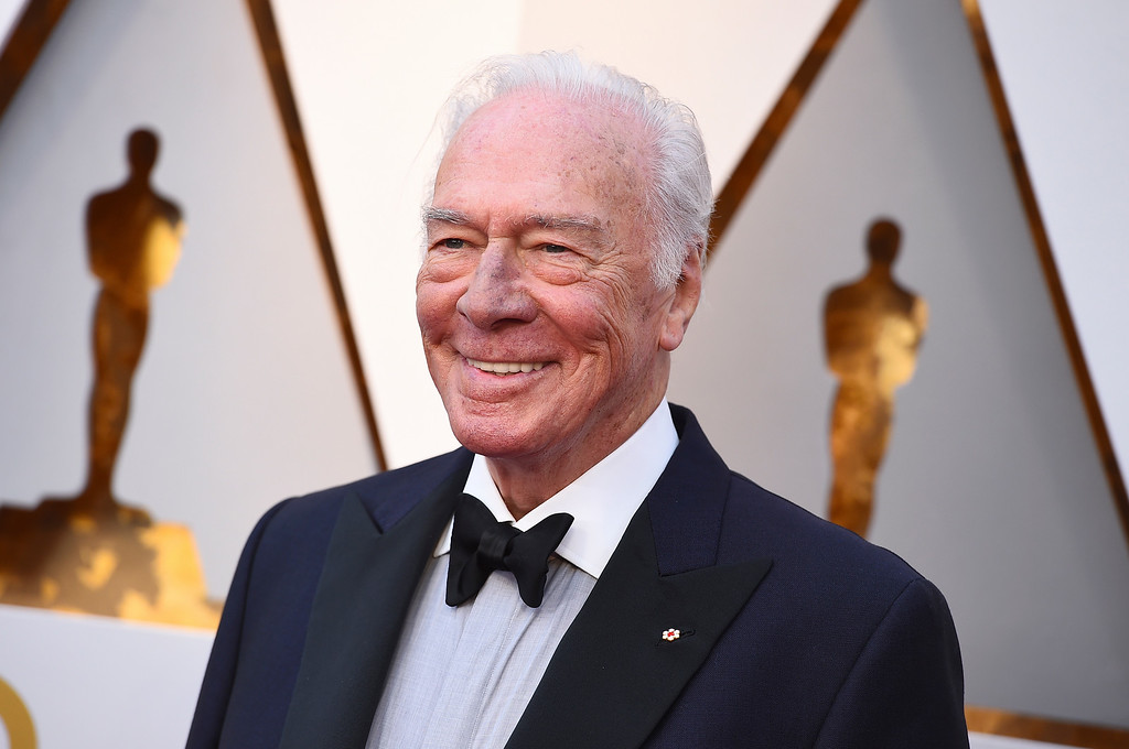 . Christopher Plummer arrives at the Oscars on Sunday, March 4, 2018, at the Dolby Theatre in Los Angeles. (Photo by Jordan Strauss/Invision/AP)
