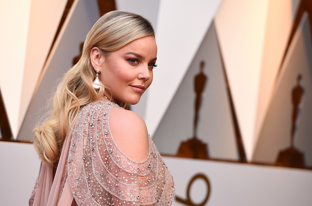 . Abbie Cornish arrives at the Oscars on Sunday, March 4, 2018, at the Dolby Theatre in Los Angeles. (Photo by Jordan Strauss/Invision/AP)