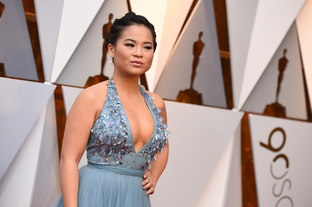 . Kelly Marie Tran arrives at the Oscars on Sunday, March 4, 2018, at the Dolby Theatre in Los Angeles. (Photo by Jordan Strauss/Invision/AP)