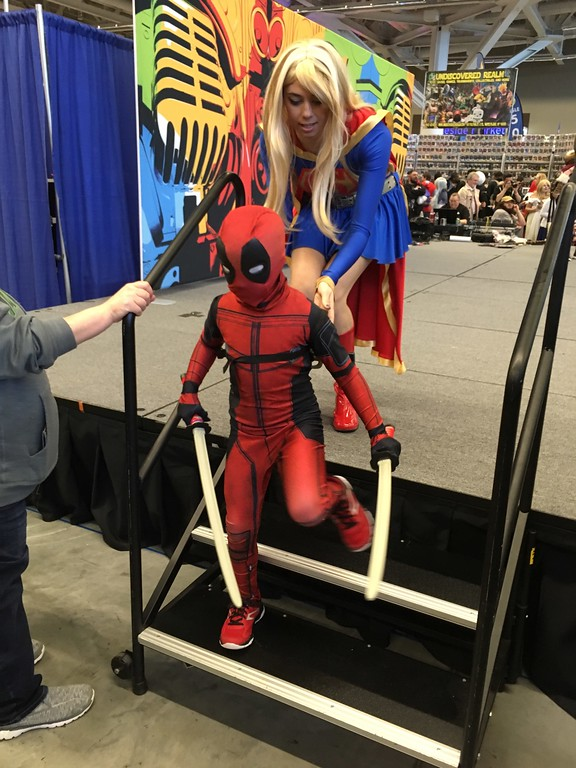 . Mark Podolski - The News-Herald Wizard World Cleveland March 3 at the Huntington Convention Center.