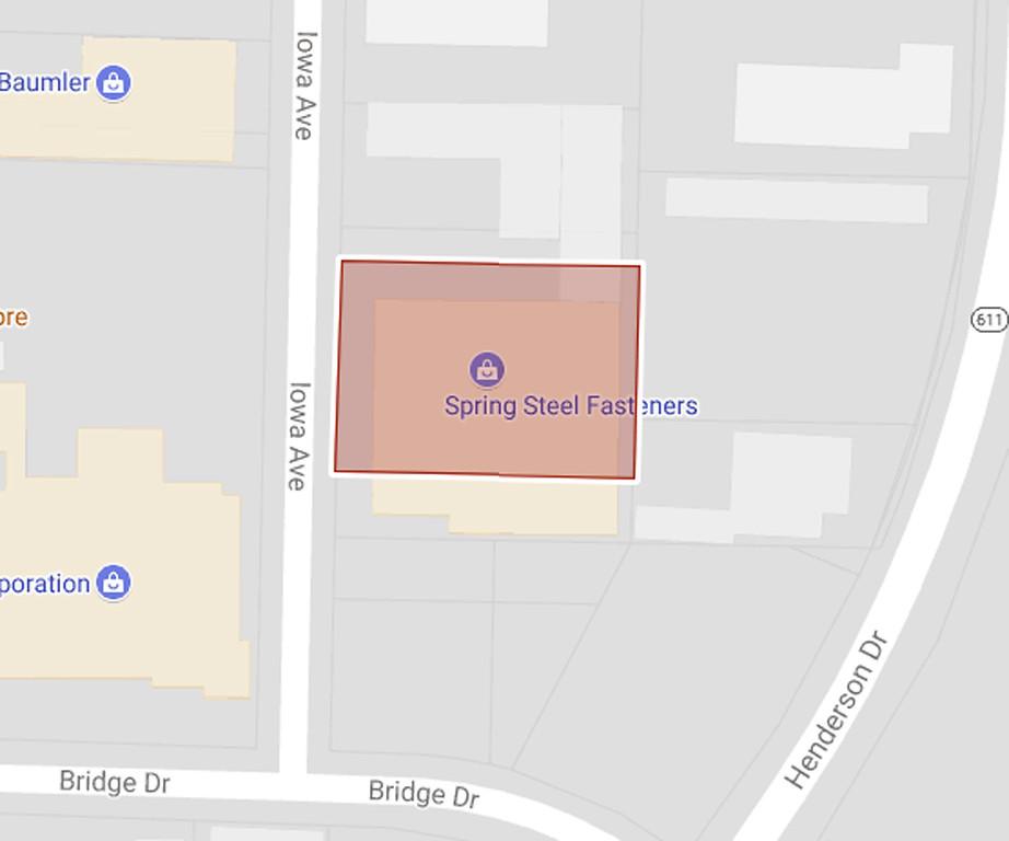 . 1821 and 1817 Iowa Ave., Lorain. Amount due: $250,868.11. (Google Maps)