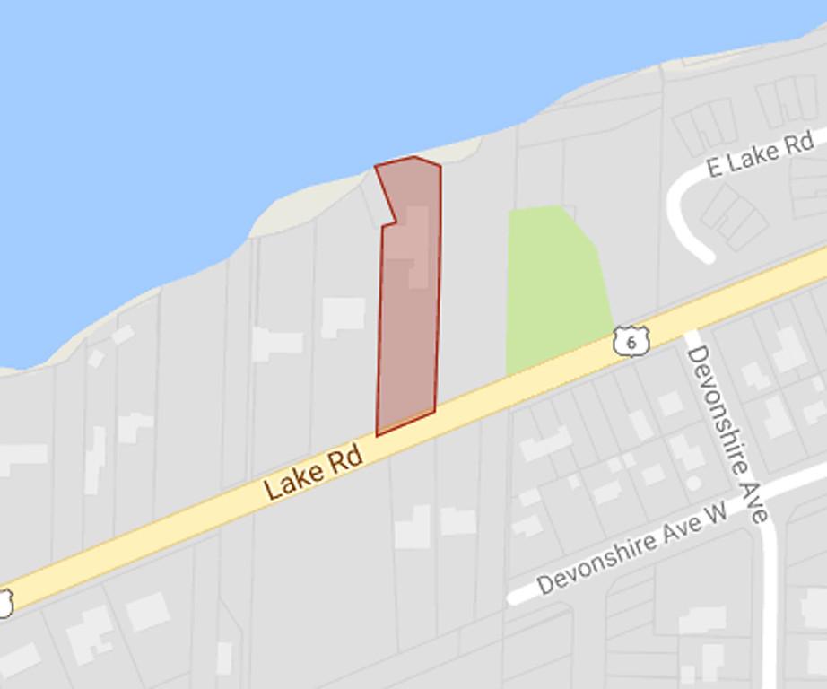 . 3675 Lake Road, Sheffield Lake. Amount due: $104,945.05. (Google Maps)
