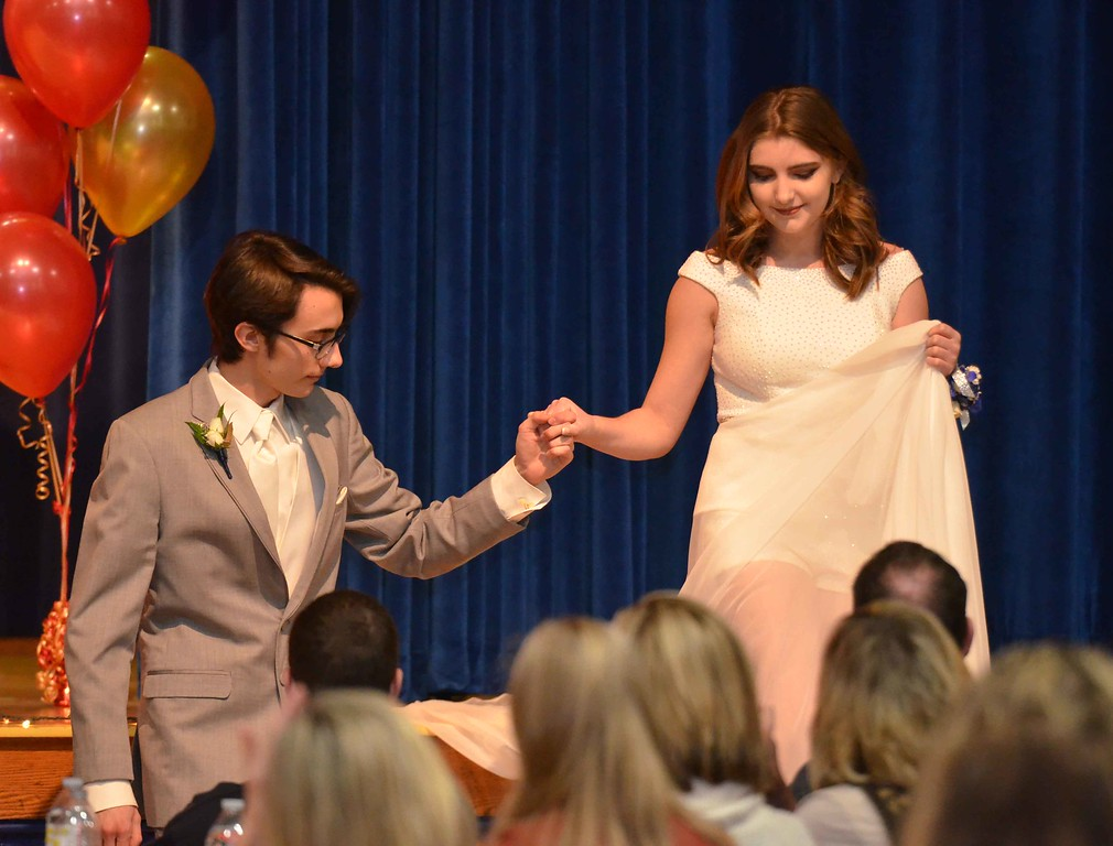 . Paul DiCicco � The News-Herald <br> The Prom Fashion Show & Beyond Extravaganza was hosted by West Geauga After Prom 2018.