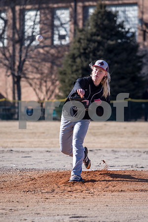Sam Buckner for Shaw Media.<br /> Raymond Ragan throws a pitch on Wednesday March 14, 2018 against Genoa-Kingston.