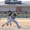 Sam Buckner for Shaw Media.<br /> Robert McCoy catches a pop-up at shortstop on Wednesday March 14, 2018 against Genoa-Kingston.