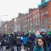 Crowds lined up - at times eight-deep - to view the parade along O'Connell Street. Julie Spahn for Shaw Media