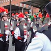The Marching Barbs parade down Parnell Square North. Julie Spahn for Shaw Media