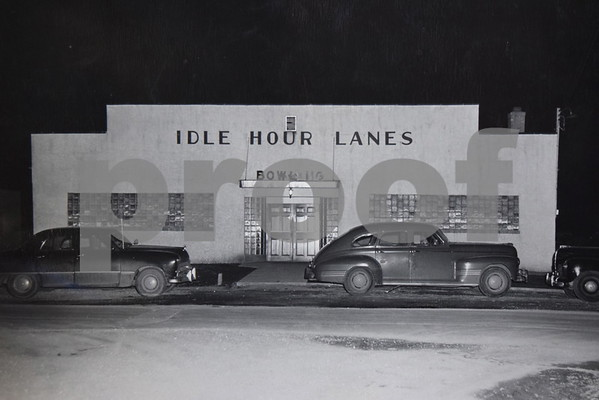 Idle Hour Lanes in Sandwich was built by Wesley Scent and Arthur Andersen in 1947 and opened in 1948. Scent's daughter Bonnie and her husband, Ron Miller, owned and operated the bowling alley for 41 years before selling it about a month ago.
