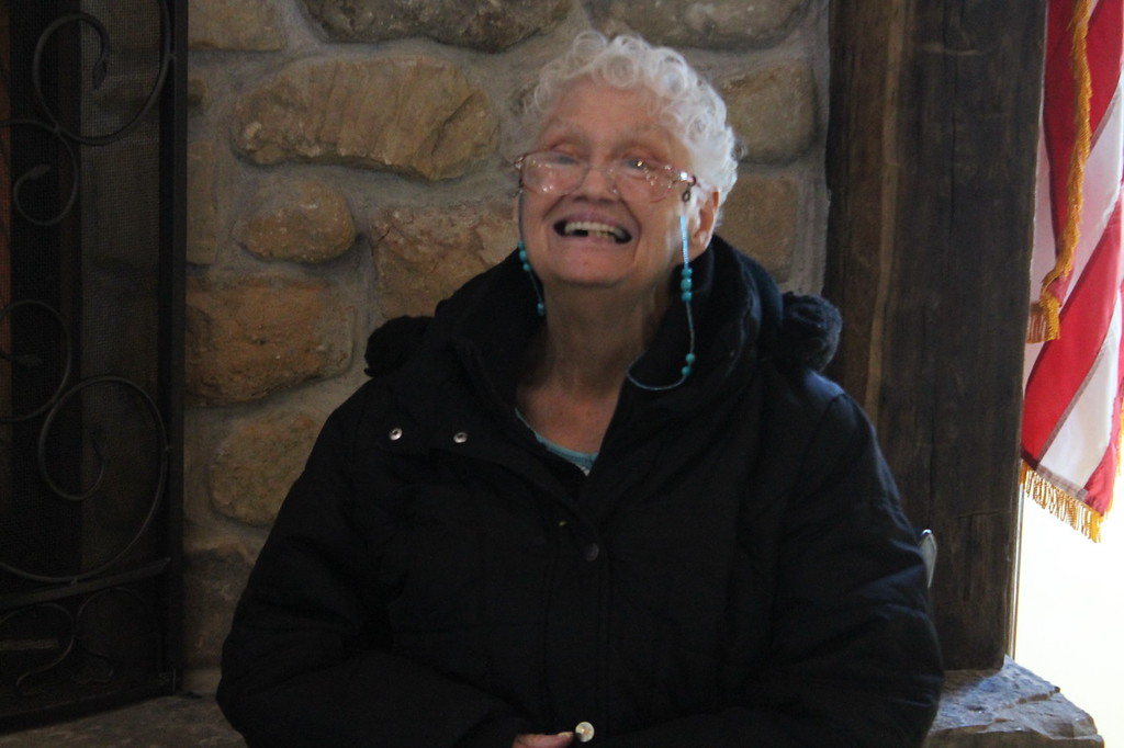 . Kristi Garabrandt - The News-Herald <br> Bonita Beech, 80, of Chardon,  known to her friends as Bonnie has been attending the maple stirs since she was a young girl.
