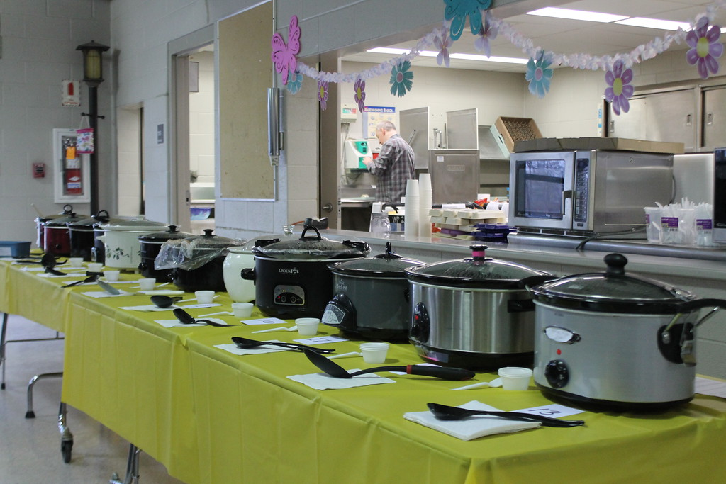 . The 11th annual Willoughby Branch Chili Cook off had 13 different styles of Chili entered.  A first, second and third place winner was picked from the 13. Kristi Garabrandt - The News-Herald